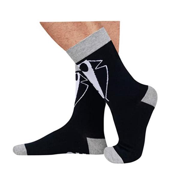 Wedding Socks Funny Groom, Best Man Tuxedo Gif