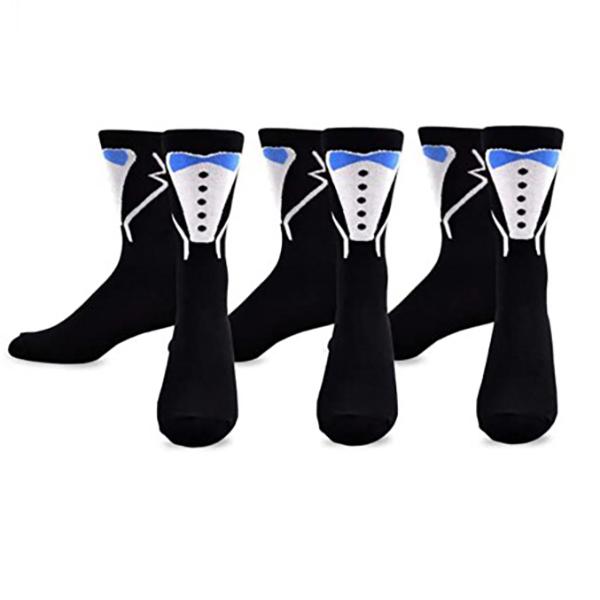 TeeHee Wedding Cotton No Show Socks