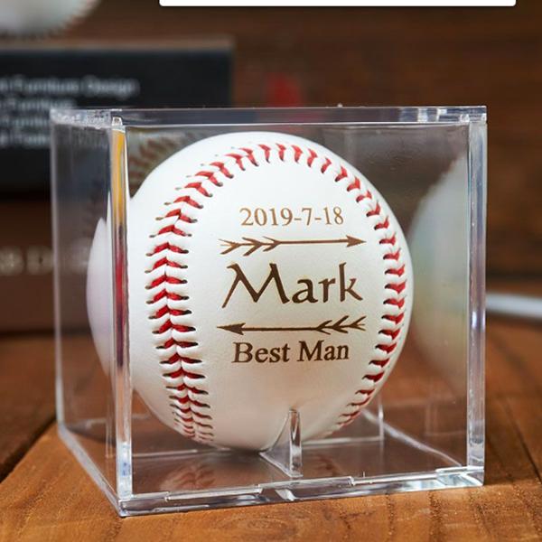 custom engraved baseball