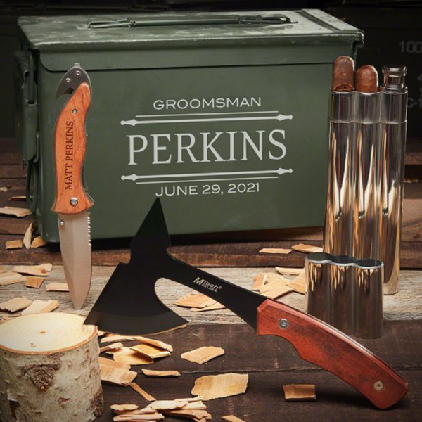 sharpened tools personalized ammo box