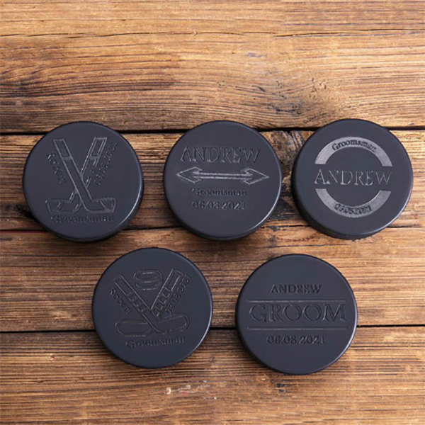 rubber hockey bottle openers