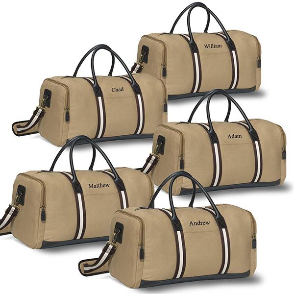 Classy Canvas Duffel Bag Set of 5