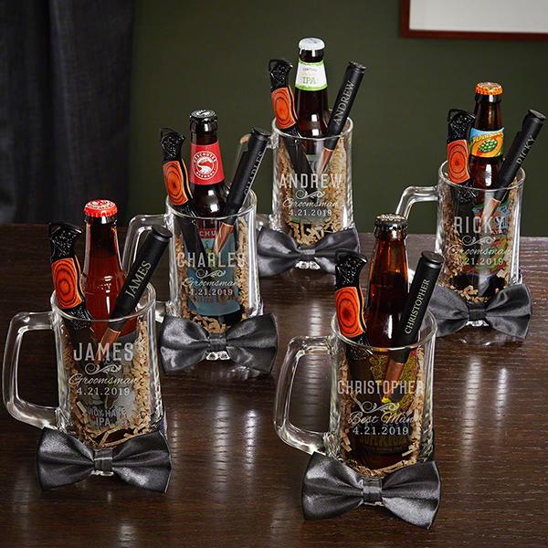 Boozy Beer Mug Set of 5
