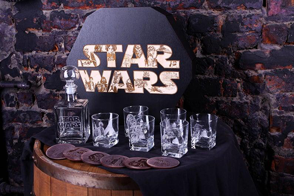 Star Wars Decanter Set