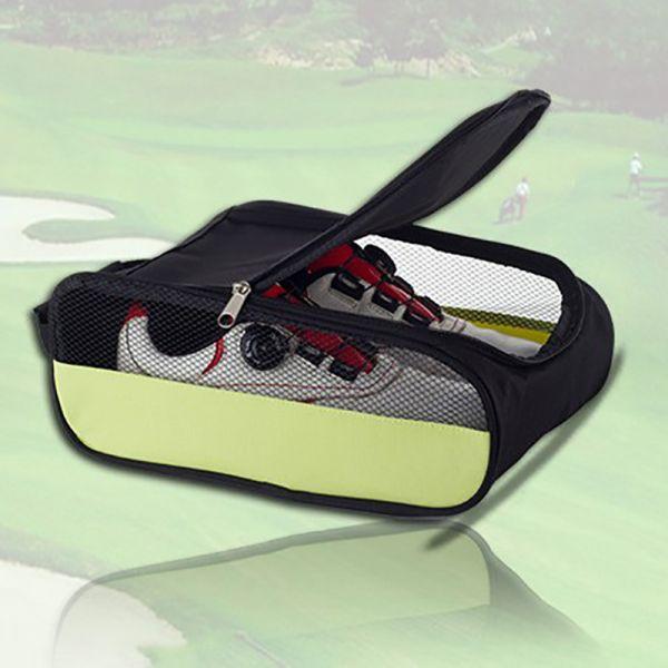 Portable Breathable Golf Shoe Bag