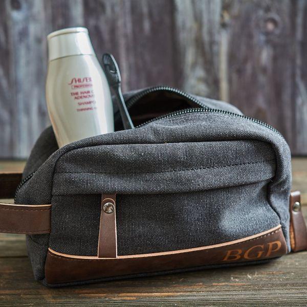 Personalized Toiletry Dopp Kit Bag
