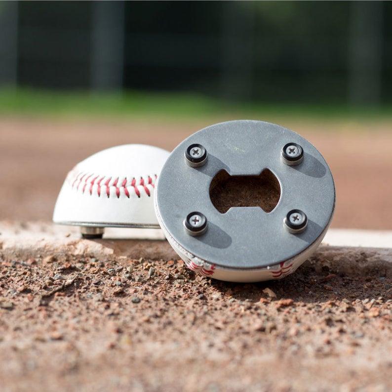 baseball bottle cap opener
