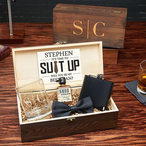 vintage proposal box